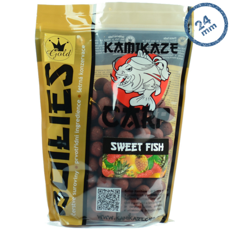 Boilies KC Sweet Fish 24mm