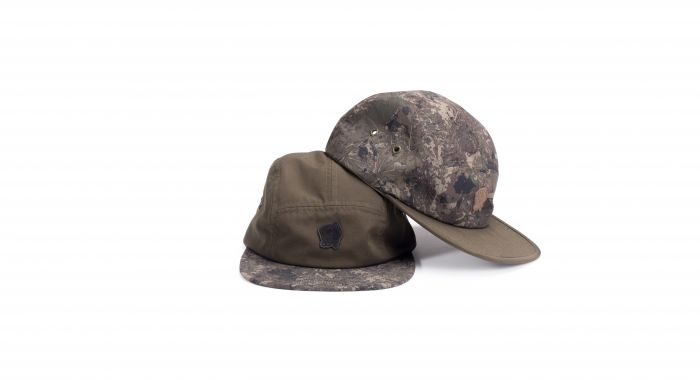 kšiltovka Nash ZT 5 PANEL CAP - GREEN/CAMO