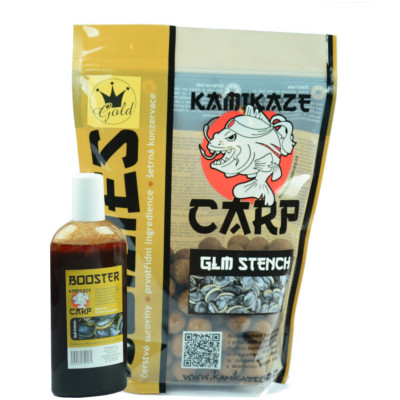 Boilies GLM Stench + booster